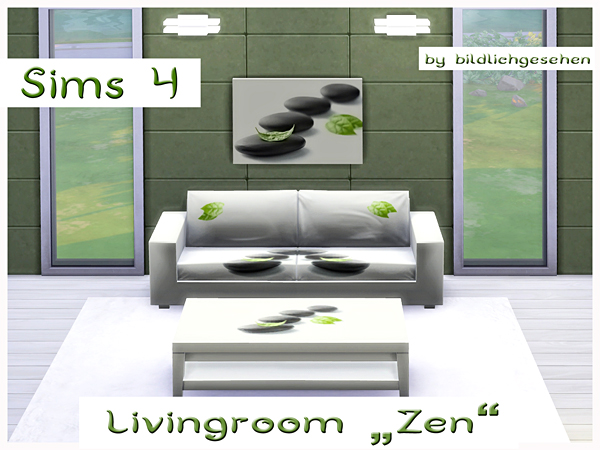 Zen livingroom by Bildlichgesehen at Akisima image 10819 Sims 4 Updates