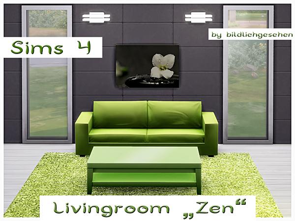 Zen livingroom by Bildlichgesehen at Akisima image 10917 Sims 4 Updates