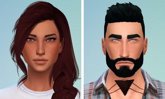 Sims 4 Models by Chisa at Chisami