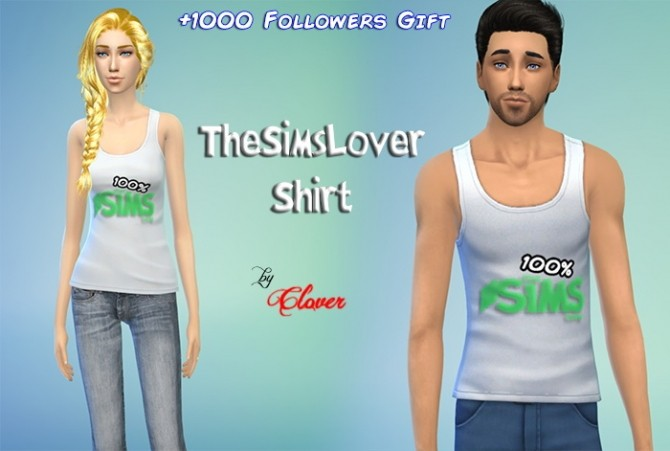 Shirt by Clover at The Sims Lover image 1097 670x451 Sims 4 Updates