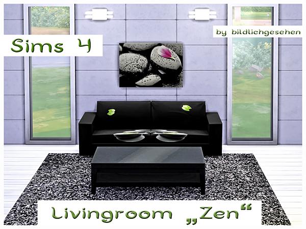 Zen Livingroom By Bildlichgesehen At Akisima Sims 4 Updates