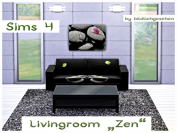 Zen livingroom by Bildlichgesehen at Akisima image 11023 Sims 4 Updates