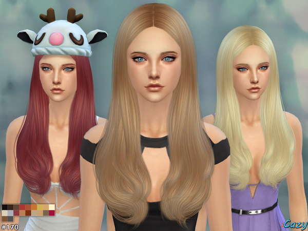 Jodie Hair for females by Cazy at TSR image 1105 Sims 4 Updates