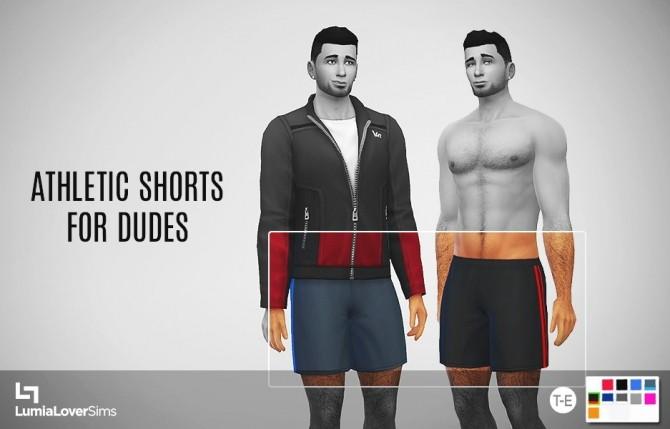 Athletic shorts at LumiaLover Sims image 11114 670x429 Sims 4 Updates