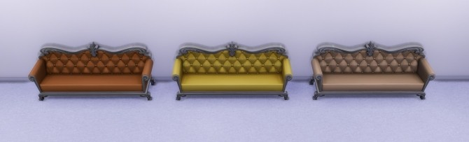 DePablo Couch Recolor Light Wood by lexiconluthor at Mod The Sims image 11123 670x203 Sims 4 Updates