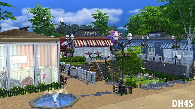 The Old Stones Mall by Samuel at DH4S image 1140 670x377 Sims 4 Updates