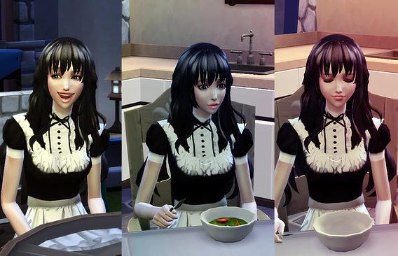 Sims 4 REINA Animate hair 14 at Studio K Creation