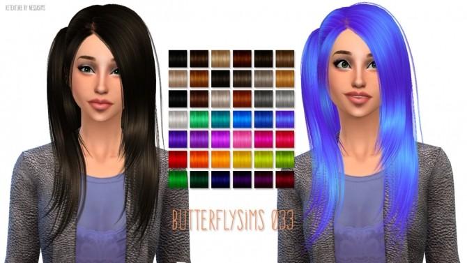 Sims 4 Butterflysims 033 hair retexture at Nessa Sims