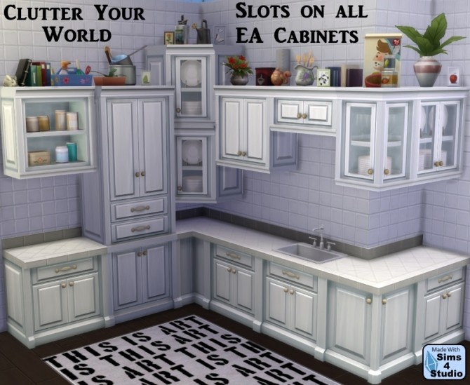 Cabinet Slot Mod for All EA Cabinets by OM & Andrew at Sims 4 Studio image 11514 670x549 Sims 4 Updates