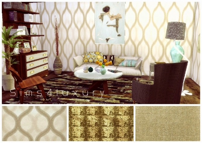 6 wallpapers at Sims4 Luxury image 1160 670x475 Sims 4 Updates