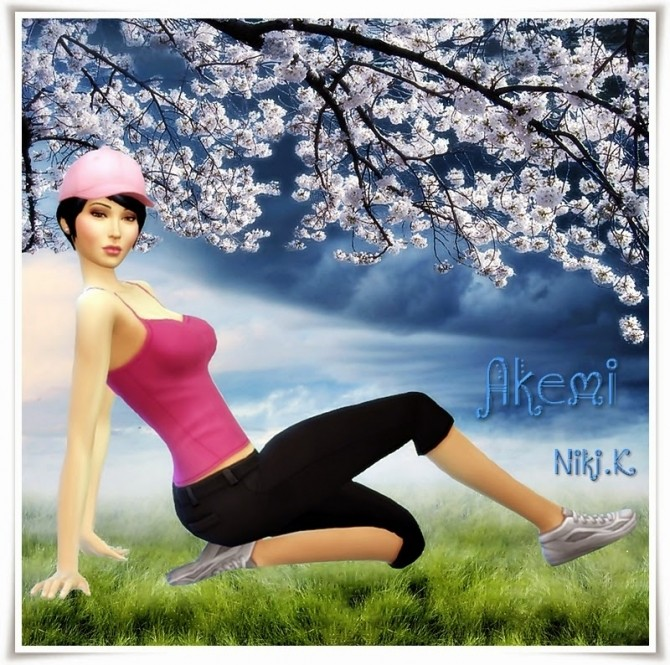 Sims 4 Akemi at Niki.K Sims