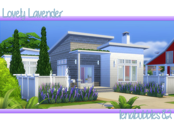 Lovely Lavender home by lenabubbles82 at TSR image 1170 Sims 4 Updates
