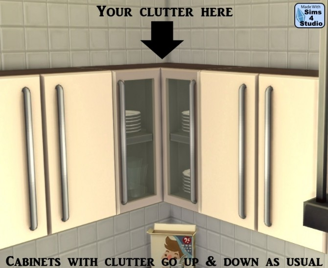 Cabinet Slot Mod for All EA Cabinets by OM & Andrew at Sims 4 Studio image 11713 670x549 Sims 4 Updates