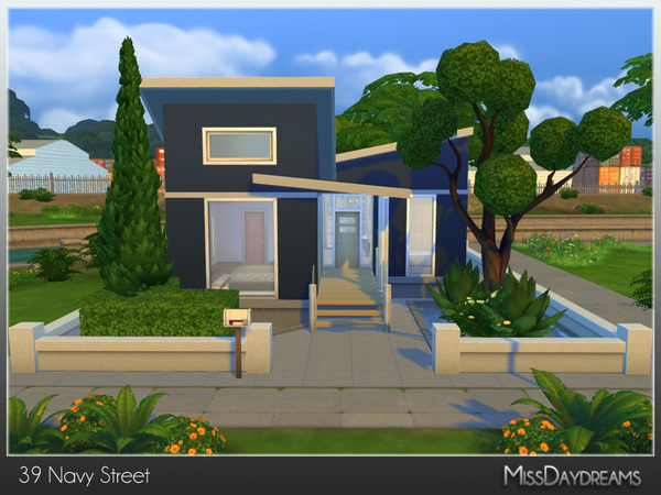 Sims 4 39 Navy Street house by MissDaydreams at TSR