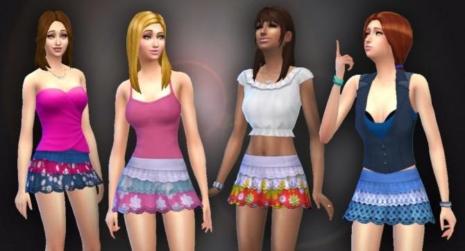 Renewed Skirt by Kiara at My Stuff image 12 670x362 Sims 4 Updates