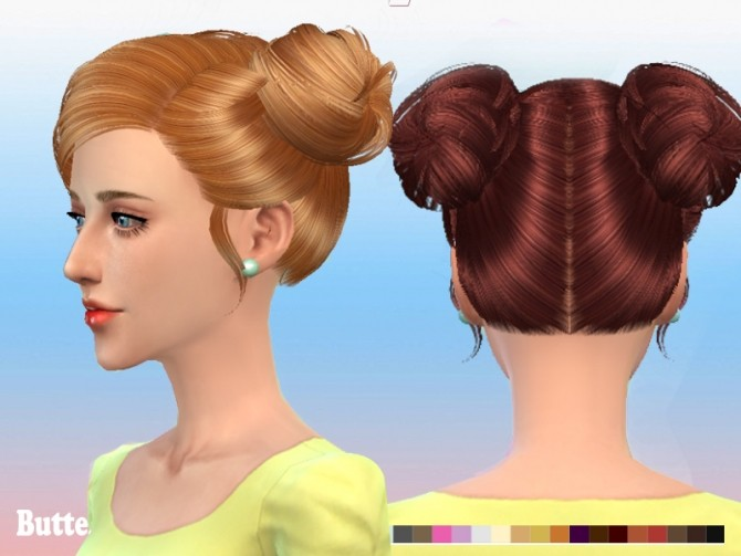 Hair 078 by YOYO (Pay) at Butterfly Sims image 1206 670x503 Sims 4 Updates
