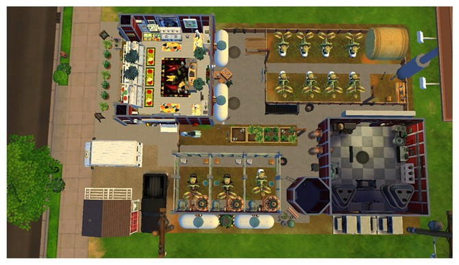 Cowplant Ranch and Farmers Market at SimDoughnut image 12130 670x387 Sims 4 Updates