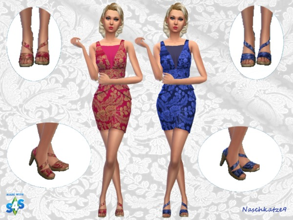 Outfit with Chic by naschkatze9 at TSR image 1215 Sims 4 Updates