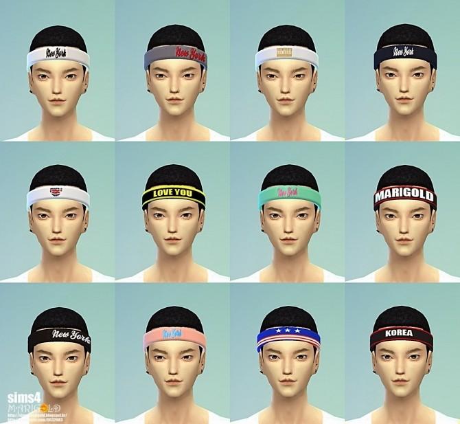Sims 4 Sporty hair band at Marigold