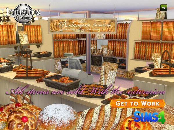 Sims 4 The bakery 2015 (11 items set) by Jomsims at TSR