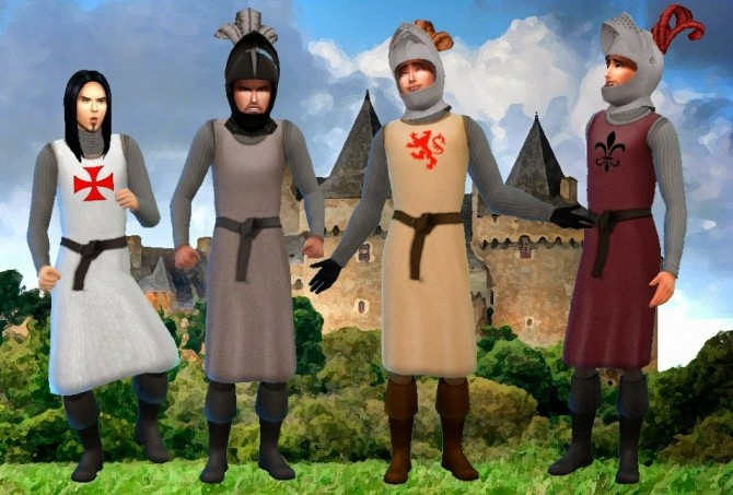 Medieval Warrior outfit at My Stuff image 12312 670x453 Sims 4 Updates
