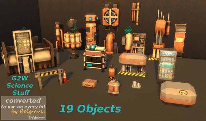 Science Stuff From G2w Converted To Use On Every Lot At