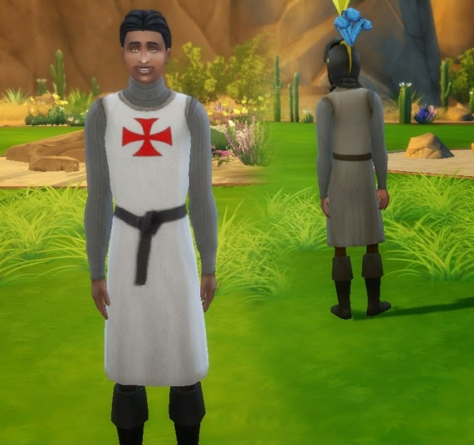 Medieval Warrior outfit at My Stuff image 12412 670x629 Sims 4 Updates