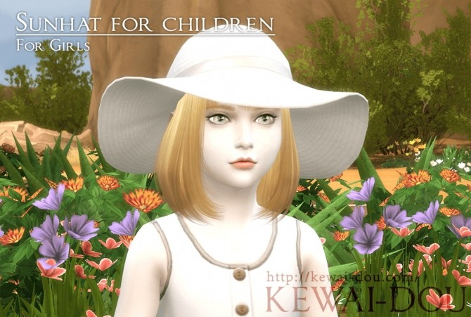 Sunhat for kids at KEWAI DOU image 12610 670x451 Sims 4 Updates