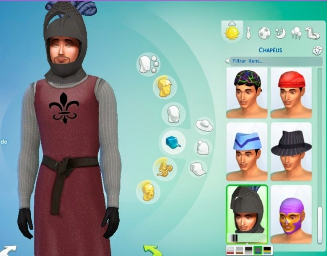 Medieval Warrior outfit at My Stuff image 12612 670x525 Sims 4 Updates