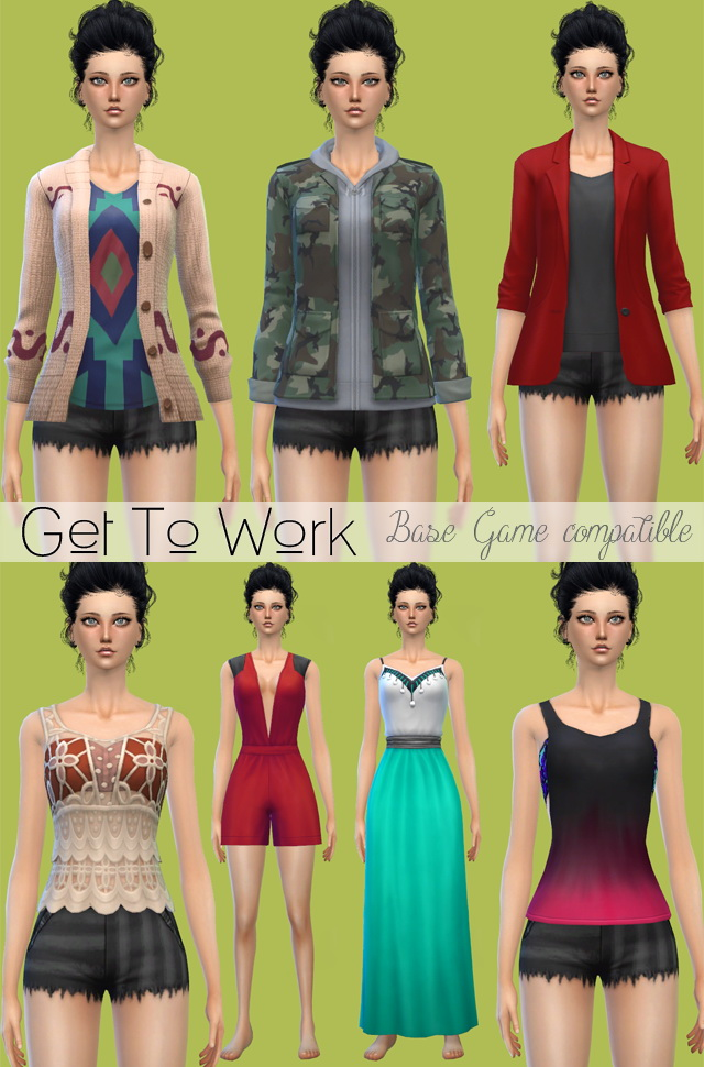 GTW Clothes & Shoes base game compatible at Jenni Sims image 1264 Sims 4 Updates