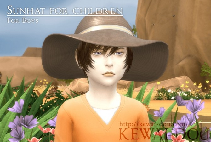 Sunhat for kids at KEWAI DOU image 12710 670x451 Sims 4 Updates