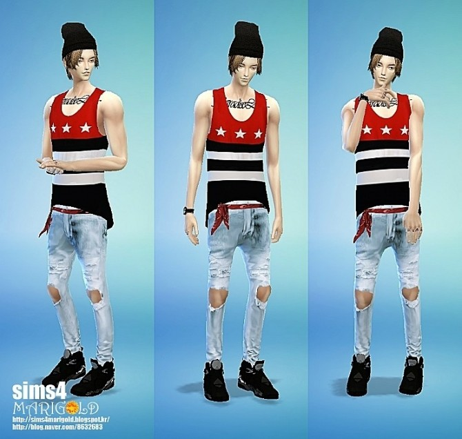 Scarf belt & sagging pants at Marigold image 12721 670x636 Sims 4 Updates