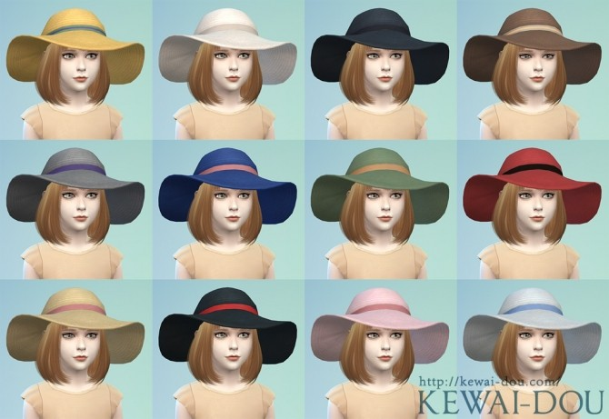 Sunhat for kids at KEWAI DOU image 12810 670x461 Sims 4 Updates