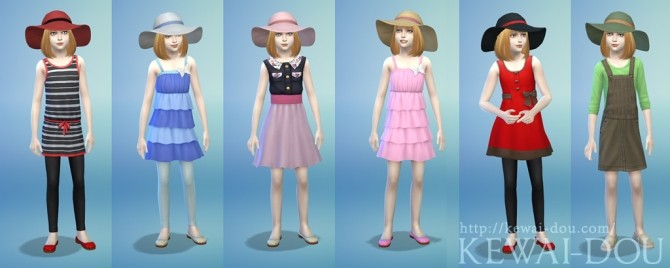 Sunhat for kids at KEWAI DOU image 12910 670x268 Sims 4 Updates