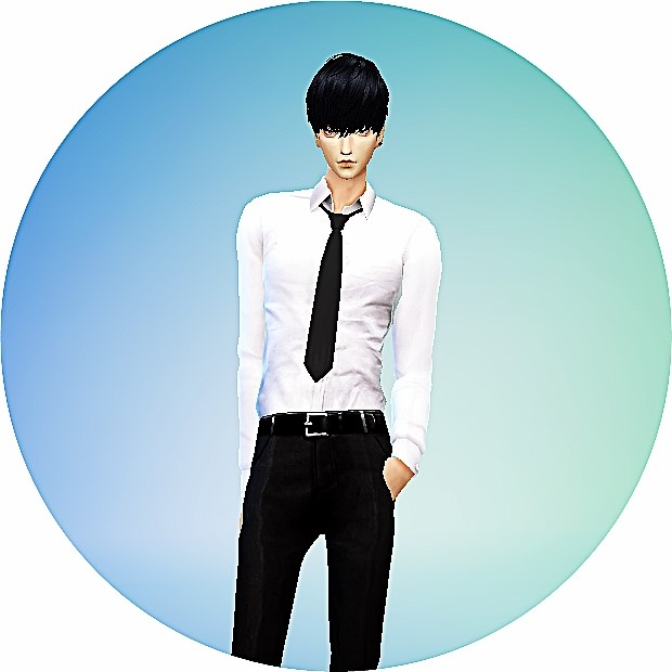 Male necktie tight version at Marigold image 13115 Sims 4 Updates