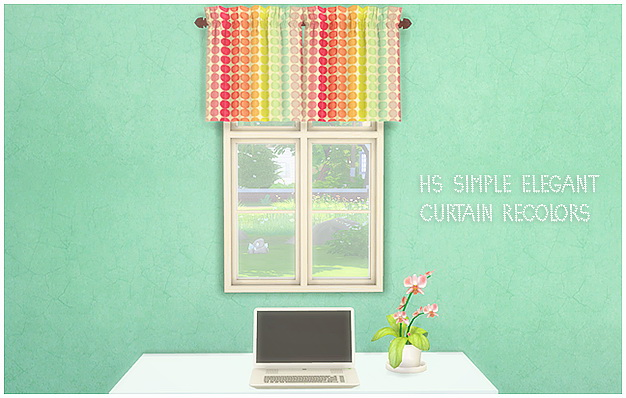 Sims 4 HS Simply elegant curtain addon at Lina Cherie