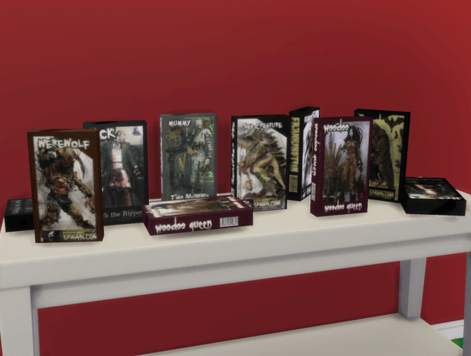Sims 4 McFarlane Monster Toy Boxes at Budgie2budgie