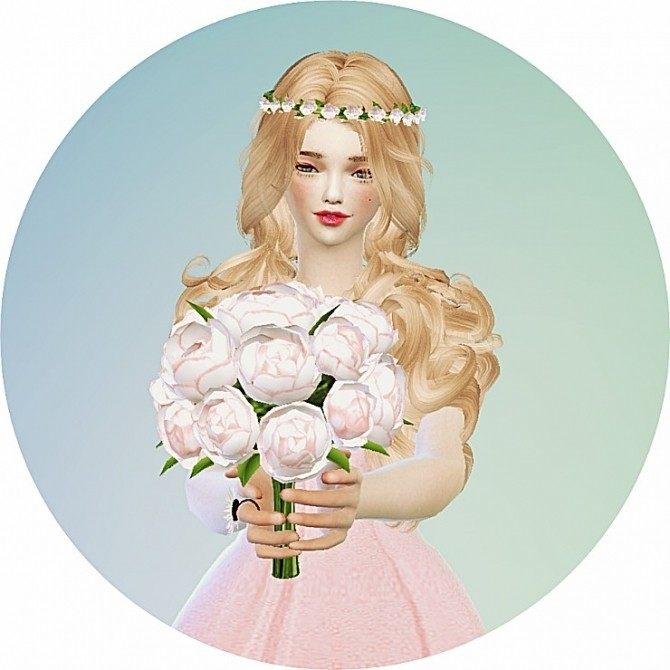 Sims 4 Flower crown at Marigold