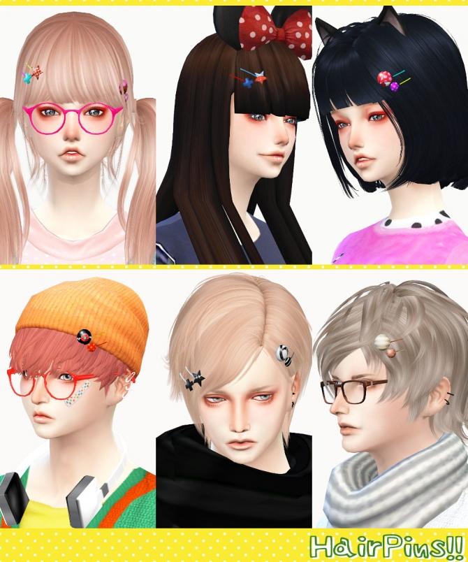 Pin on CAS: Hair Sims 4