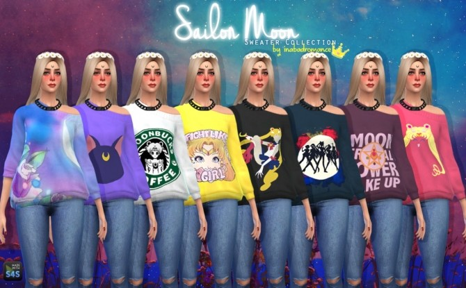 Sailor Moon 3T4 conversions at In a bad Romance image 13310 670x415 Sims 4 Updates
