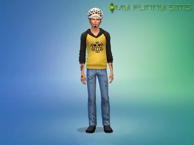 Law Trafalgar Hat at My Funny Sims image 13317 670x503 Sims 4 Updates