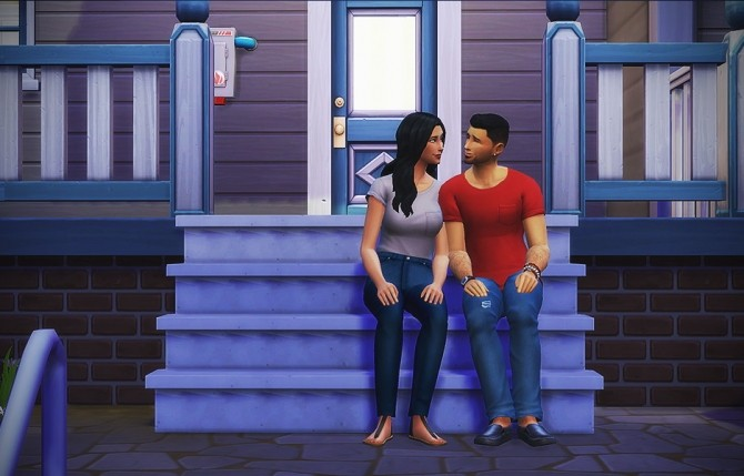 Sit on stairs mod at LumiaLover Sims image 13414 670x429 Sims 4 Updates