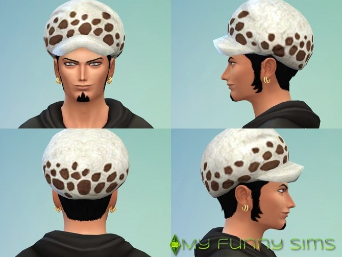 Law Trafalgar Hat At My Funny Sims 187 Sims 4 Updates