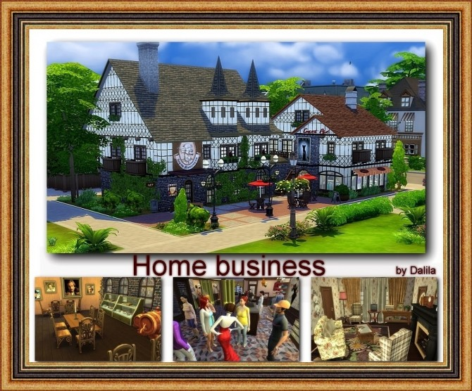 Sims 4 Home business at Architectural tricks from Dalila