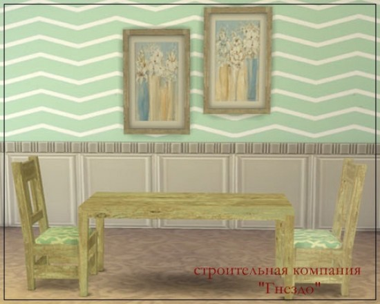 Sims 4 Steeles dining room at Sims by Mulena