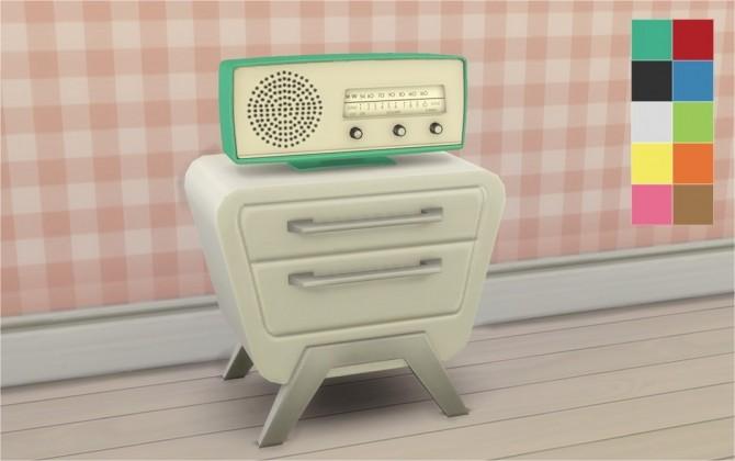 Sims 4 Back To Retro Stereo at Veranka