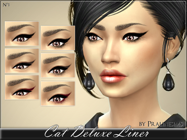Sims 4 Cat Deluxe Liner by Pralinesims at TSR