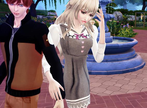 Maid dress Miya Retexture at Studio K Creation image 14215 Sims 4 Updates