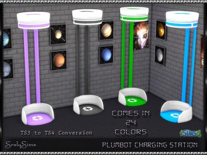 Sims 4 Plumbot Charging Station at SrslySims