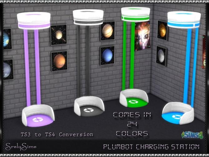 Plumbot Charging Station At Srslysims 187 Sims 4 Updates